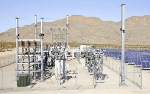 A project substation